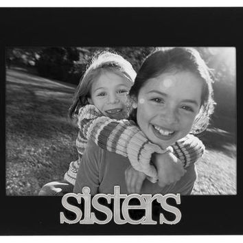 Malden 4 X 6 Sisters Black Picture Frame