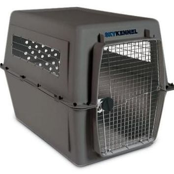 "Petmate Sky Kennel Airplane Travel Crate 48"" XXL Large"