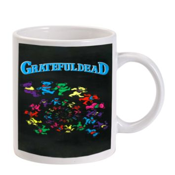 Gift Mugs | Grateful Dead Dancing Bear Ceramic Coffee Mugs
