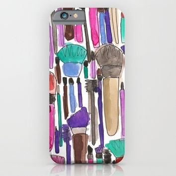 Makeup Brushes Phone Case