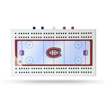 MONTREAL CANADIANS CRIBBAGE BOARD
