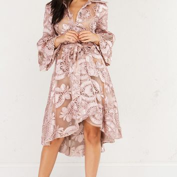 FINAL GIRL LACE TRENCH COAT - What's New