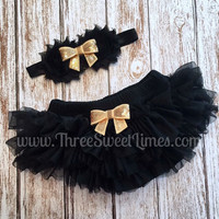 Tutu Bloomers   Ruffle Lace Diaper Cover   Baby Girl Headband   Newborn Photo Outfit   New Baby Shower Gift   Smash Cake Photos