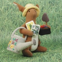 Spring Gardener Bunny With Tools Of The Trade | Luulla