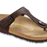 Gizeh Habana Oiled Leather Sandals | Birkenstock USA Official Site