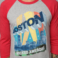 Urban Outfitters - Boston Raglan Tee