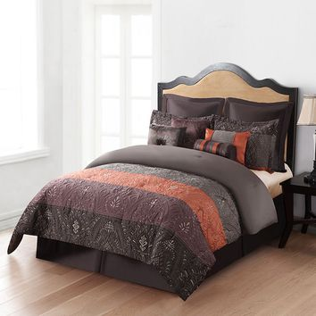 Home Classics Jasmine 12-pc. Down-Alternative Comforter Set
