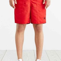 Stussy Pattern Waist Band Short- Red