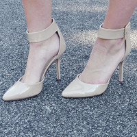 She's A Knockout Heels: Tan | Hope's