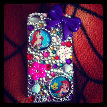 Little Mermaid IPHONE4 Case by antonettesboutique on Etsy