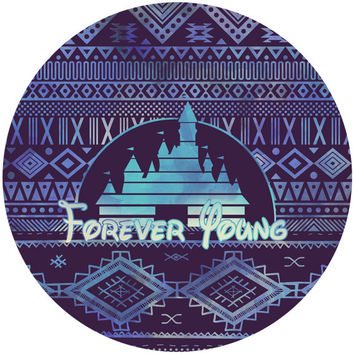 Sara Eshak's Forever Young Circle Decal