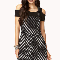 Darling Polka Dot Overall Dress | FOREVER 21 - 2000050746
