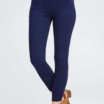 Life In Style Jeggings - Multiple Colors