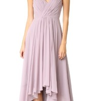 High Low Chiffon Gown