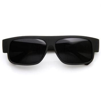 OG Classic Mad Dogger Soft Finish Matte Black Gangsta Loc Sunglasses