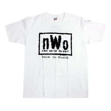 WCW NWO WHITE T-SHIRT XL