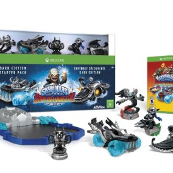 Skylanders SuperChargers Dark Edition Starter Pack - PlayStation 3