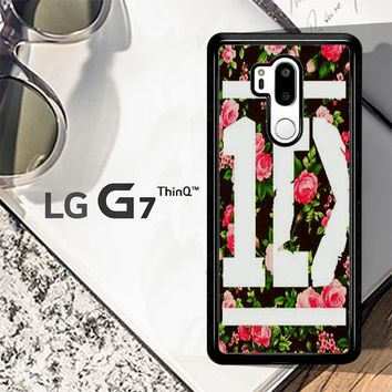 1D One Direction Floral V0288 LG G7 ThinQ Case
