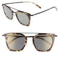 Oliver Peoples Dacette 50mm Square Aviator Sunglasses | Nordstrom