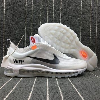 PEAP OFF WHITE x NIKE Customise Air Max 97 OG The Ten Sport Running Shoes AJ4585-100