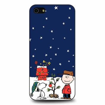 Charlie Brown Peanuts Snoopy iPhone 5/5s/SE Case