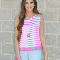 Show Your Stripes Tank Top