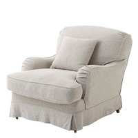 Beige Lounge Chair | Eichholtz Highbury