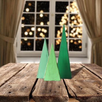 Wooden Trees, Rustic Christmas Tree