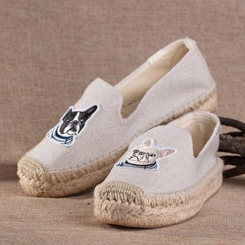 Soludos Thick-bottomed 2018 teddy & gigi embroidery Slipper