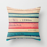 Childhood  memories Throw Pillow by Sandra Arduini | Society6