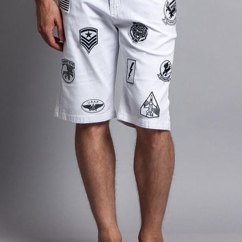 Patch Twill Shorts DS763 - H8G