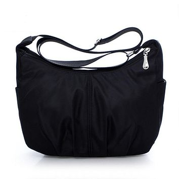 Women's Messenger Bags Nylon Waterproof Travel Casual Clutch Carteira Hobos Shoulder Bag Large Capacity Crossbody Bags Bolas