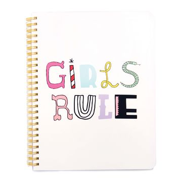 Rough Draft Mini Notebook - Girls Rule