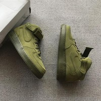 Nike Air Force 1 Mid Olive