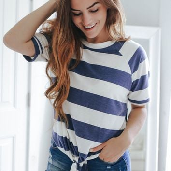 Lakeside Top - Navy