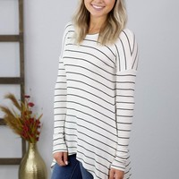 Grace & Lace-Everyday Favorite Ribbed Tee