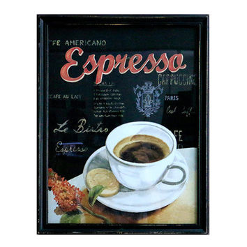 America Cafes Coffee Shop Wall Hanging Decoration   1