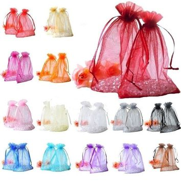 Wedding Party Favor Gift Candy Bags Jewelry Pouches Guess Sugar Bag