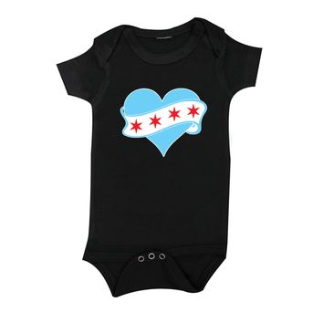 The Alley Chicago Love Infant Onesuit
