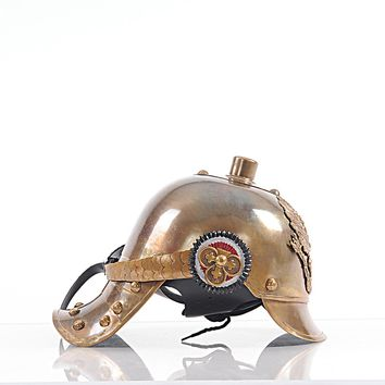 German Helmet Hancrafted Nautical Decor