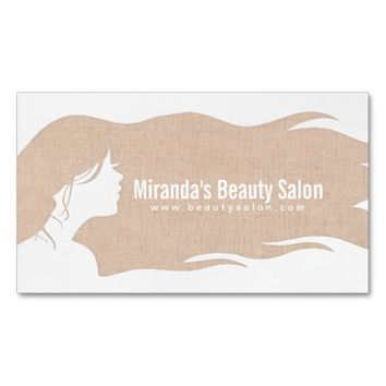 Best makeup artist business cards products on wanelo natural linen long hair makeup artist hair stylist business card colourmoves Images