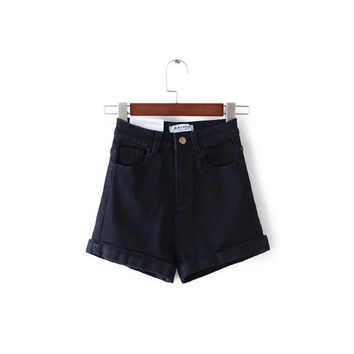 Summer Stretch High Rise Shorts [4919987076]
