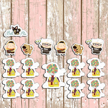 Up Planner Stickers | Erin Condren | Inkwell | Kikki K | Filofax | Planner | Sticker | Disney | Adventure |