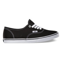 Canvas Authentic Lo Pro | Shop Womens Shoes at Vans