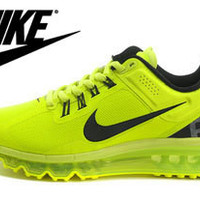 NFM005 - Nike Flyknit Max (Black/Yellow)
