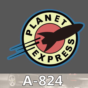 A-824 Planet Express Waterproof Fashion Cool DIY Stickers For Laptop Luggage Fridge Skateboard Car Graffiti Cartoon Sticker