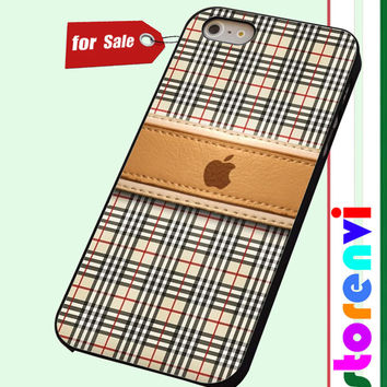Burberry Pattern apple custom case for smartphone case