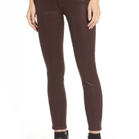 7 For All Mankind® Coated Ankle Skinny Jeans | Nordstrom