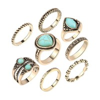 8 pc Ring Set
