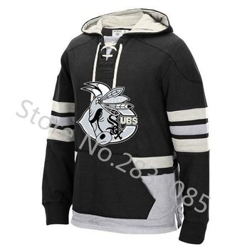 New Designs Winter Chicago Hoodies, Stitched Custom Blackhawks/White Sox/Cubs/Bulls/Bears Team Player Name/Number Sweatshirts